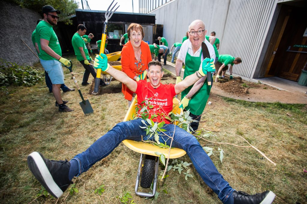 Bank of Ireland Backyard Blitz Corporate Social Responsibility - izest marketing