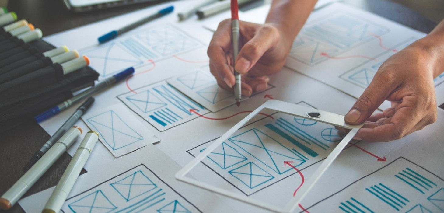 UI UX design - izest marketing