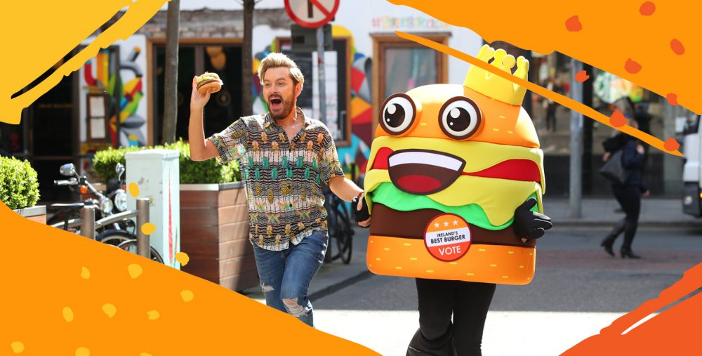 national burger day, Ireland's best burger, marketing campaigns