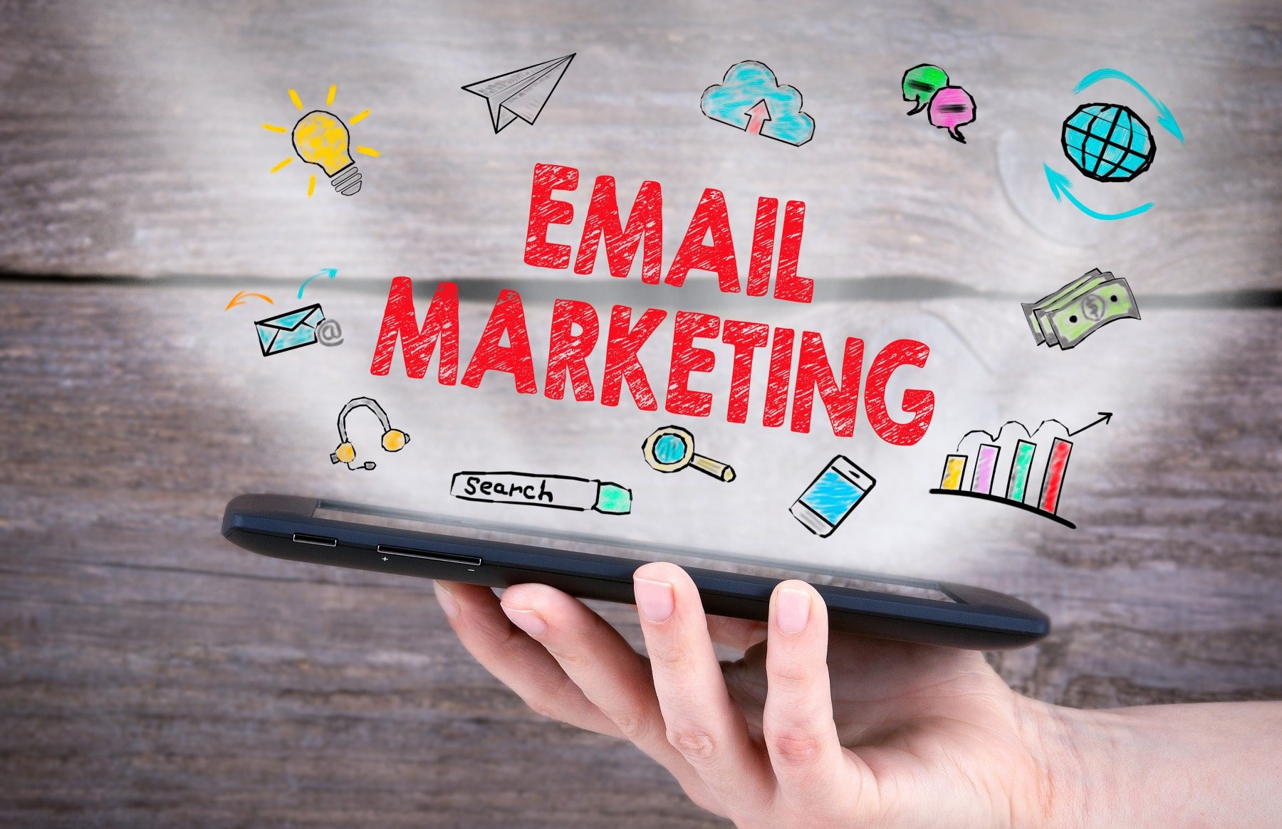 Process to start collecting email address for email marketing